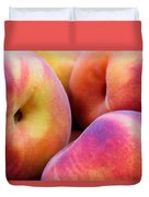 Perfectly Peachy Duvet Cover
