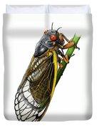 Periodical Cicada Duvet Cover