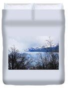 Perito Moreno Glacial Landscape Duvet Cover