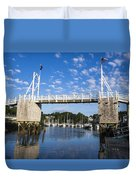 Perkins Cove - Maine Duvet Cover