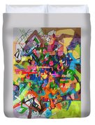 Perpetual Encounter With Providence 4 Duvet Cover