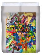 Perpetual Encounter With Providence 7 Duvet Cover