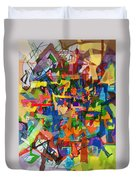 Perpetual Encounter With Providence 7b Duvet Cover