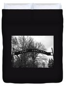 Perry Cemetery Duvet Cover