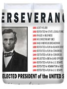 Perseverance Of Abraham Lincoln Duvet Cover