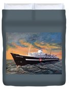 Perseverance On The Bay Duvet Cover