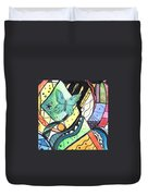 Persistence Of Form Duvet Cover