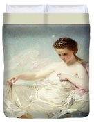 Personification Of The Sciences Duvet Cover by Charles Chaplin