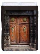 Peruvian Door Decor 10 Duvet Cover