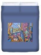 Pescador De Ilusoes  - Fisherman Of Illusions Duvet Cover