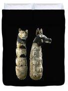 Pet Mummies, 1st Century Duvet Cover