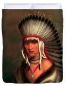 Petalesharro. Generous Chief  Pawnee Duvet Cover