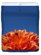 Petals For A Lady Duvet Cover