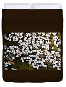 Petals In The Pond Duvet Cover