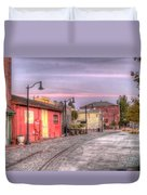 Petaluma Morning Duvet Cover by Bill Gallagher