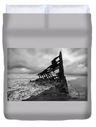 Peter Iredale Shipwreck Oregon 1 Duvet Cover