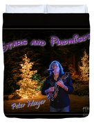 Peter Mayer Stars And Promises Christmas Tour Duvet Cover