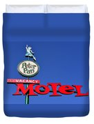 Peter Pan Motel Duvet Cover