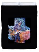 Peter Parcek Plays The Blues Duvet Cover