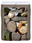 Petoskey Stones Ll Duvet Cover