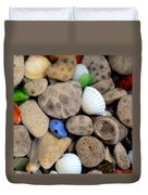 Petoskey Stones V Duvet Cover