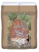 Petrified Stump Duvet Cover