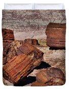 Petrified Wood Duvet Cover