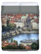 Petrin View Duvet Cover by Joan Carroll
