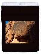 Petroglyphs Duvet Cover