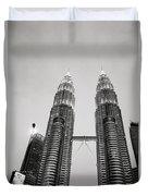 Petronas Towers Duvet Cover