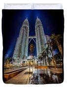 Petronas Twin Towers Duvet Cover