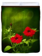 Petunia Dreams In The Woods Duvet Cover