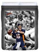 Peyton Manning Broncos Duvet Cover