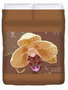 Phalaenopsis Synopsis Duvet Cover