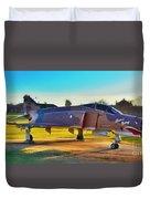 Phantom 4 Jet Vietnam Era Duvet Cover