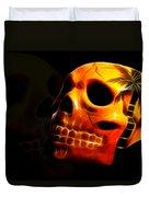 Phantom Skull Duvet Cover by Shane Bechler