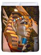 Pharaoh's Canoe Duvet Cover