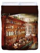 Pharmacist - Behind The Scenes  Duvet Cover