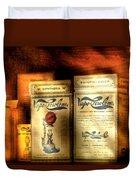 Pharmacist - Medical Cures Duvet Cover