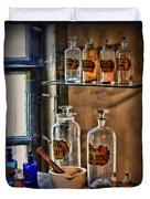 Pharmacist - Medicine Bottles Duvet Cover