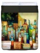 Pharmacist - Whatever Ails Ya - II Duvet Cover by Mike Savad