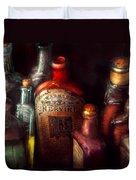 Pharmacy - A Safe Rheumatic Cure  Duvet Cover