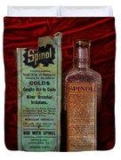 Pharmacy - Cold Remedy Duvet Cover