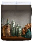 Pharmacy - Doctor I Need A Refill  Duvet Cover by Mike Savad