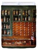 Pharmacy - Medicine - Pharmaceutical Remedies  Duvet Cover
