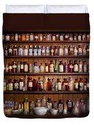 Pharmacy - Pharma-palooza  Duvet Cover by Mike Savad