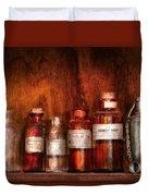 Pharmacy - Pharmacist's Fancy Fluids Duvet Cover