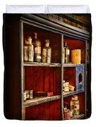 Pharmacy - The Back Room Duvet Cover