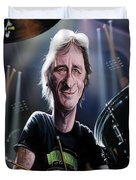 Phil Rudd Duvet Cover