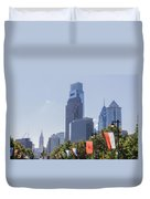Philadelphia - City On The Rise Duvet Cover